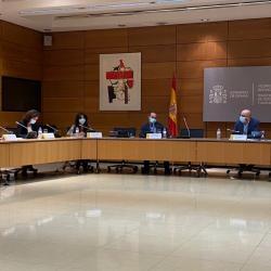 Ministerio de Derechos Sociales.Mesa del Diálogo Social el Plan de Choque en Dependencia